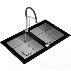 Мойка Teka DIAMOND RS15 2B 86 Black
