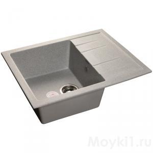 Мойка GranFest Quadro GF-Q650L Серый