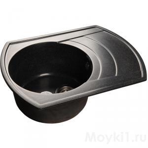 Мойка GranFest Rondo GF-R650L Черный