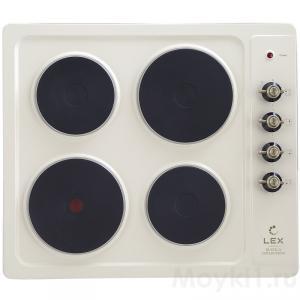 Варочная панель Lex EVE 640 C IV Light (белый антик)